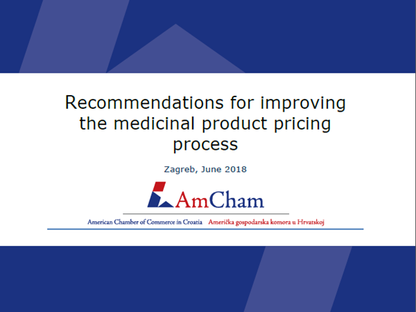 "New position paper: ""Recommendations for improving the medicinal product pricing process"""