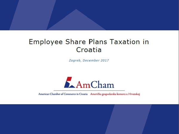 "New position paper: ""Employee Share Plans Taxation in Croatia"""