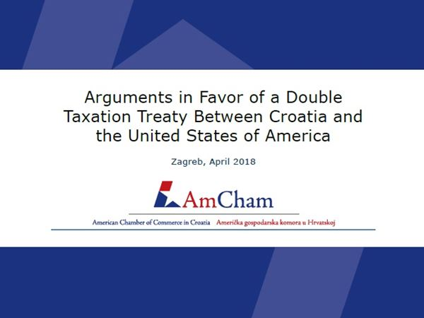 AmCham Presented a New Position Paper in Washington