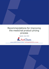 Recommendations for improving the medicinal product pricing process