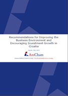 Recommendations for Improving the Business Environment and Encouraging Investment Growth in Croatia