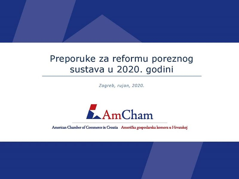 "New position paper ""Recommendations for Tax Reform in 2020"""
